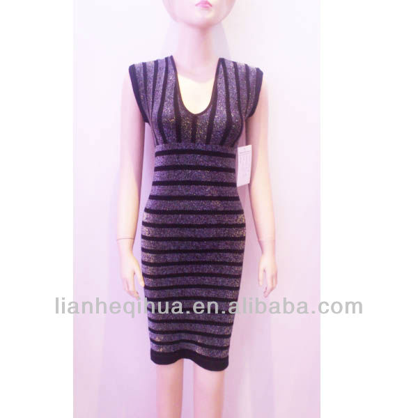 lady's seamless fashion dress