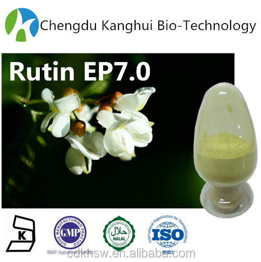Medicinal herbs HPLC Rutin Trihydrate 250249-75-3 plant extracts