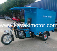 KAVAKI 200cc /250cc enclosed 3 wheeler Motorcycle& Cargo Tricycle