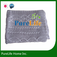 SZPLH Plaid cable knit new types of blanket