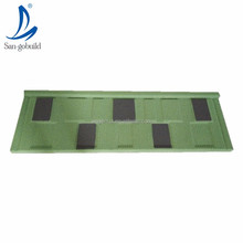 Chinese singerruz building materials Steel Roofing Suppliers stone coated metal tile zinc coated galvalume plate for roof
