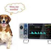 VS2000V Veterinary ECG Monitoring Instrument Pathological