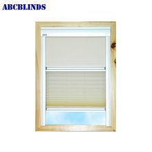 Curtain Fabric Blackout Sky Dual Roof Blind With Auto Stop