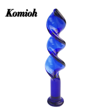Hot Sale Good Quality Glass Crystal Anal Plug Adult Products Sex Toy Dildos In China
