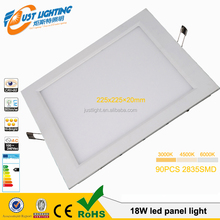 4w6w9w12w15w18w24w LED supplier high quality solar ceiling led IP54 round panel light ul listed