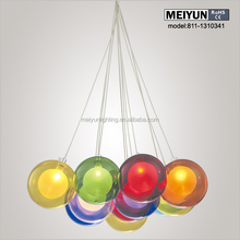 best sale ball glass cotton ball light string and decorative light pendant lamp lighting made in china