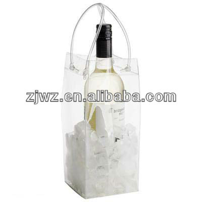 2013 new design pvc ice bag for cooling wine