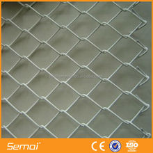 China factory low price height quality plastic coated portable chain link fence panel