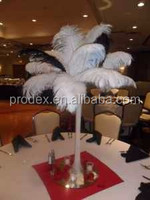 Black Ostrich feathers artificial ostrich feather wedding decoration