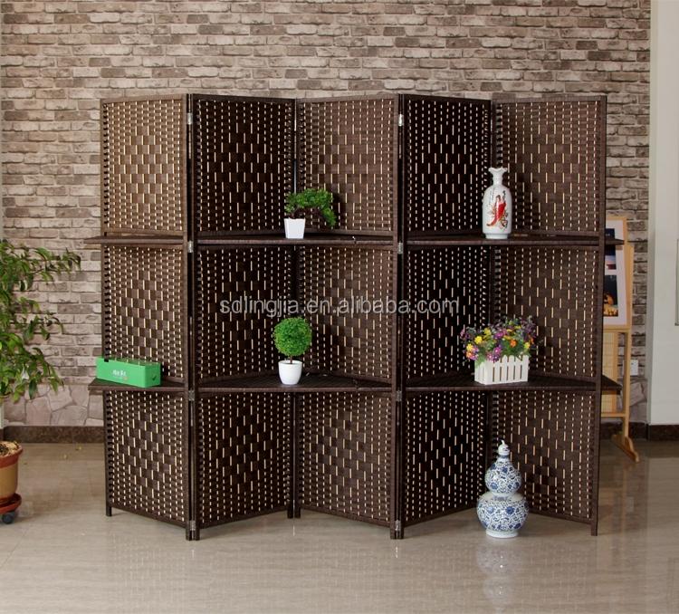 Wooden Partition hall divider design modern screens wooden partition for living