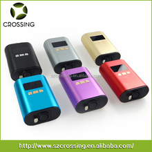Crossing best digital temperature controller box mini dab rig e nail with gr2 domeless ti-nail, colorful