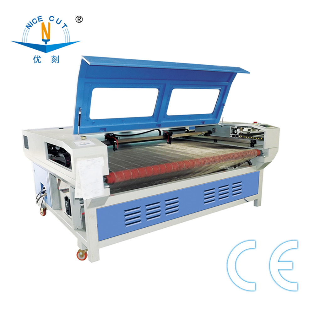 fabric laser cutting machine NC-1810 1610 leather laser cutting and engraving machinary