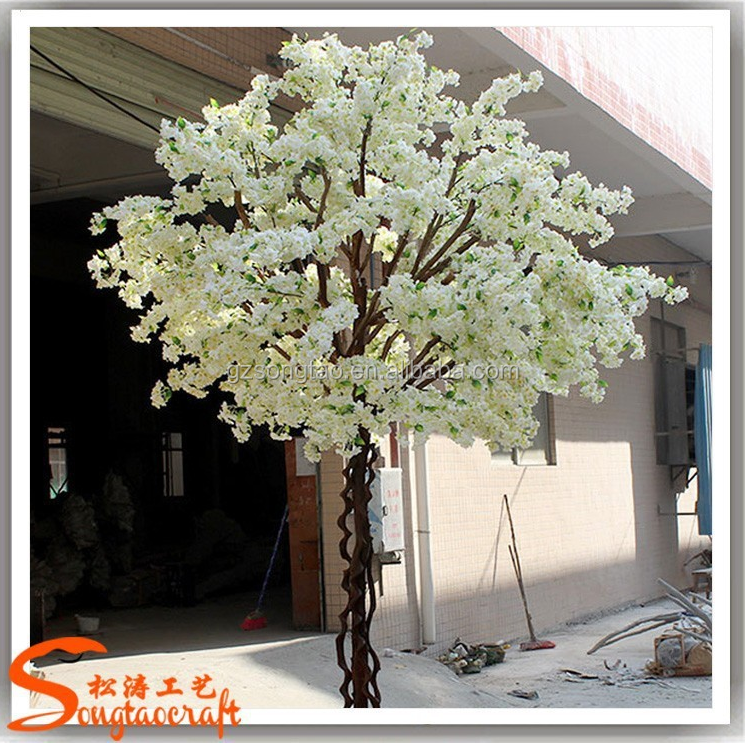 MANUFACTURER China artifical trees fake plants silk flower artifical cherry blossom wedding decoration trees for sale
