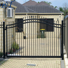 Alibaba Best seller cheap used wrought iron door gates/wrought iron fence/steel fence(factorary)