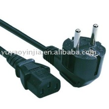 Europe schuko power cord