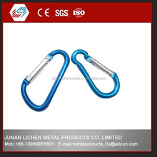DIN5299C /DIN5299D SNAP HOOK and carabiner snap hook, hot sales aluminium snap hooks and zinc- alloy die casting snap hook