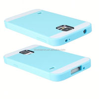 2014 New Arrival Fashion two-tone tpu pc case for samsung s5 tpu pc cell phone cases