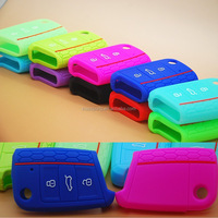 Silicone Car Remote Key Case Shell Cover For BMW / VW / Toyota / Honda /Jeep etc