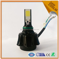 motorcycle led driving light 2 sides lighting