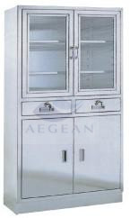 AG-SS004 modern stainless steel medical equipment cupboard hospital instrument locker