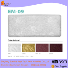 Large Anti-Fatigue Kitchen Floor pu Gel Mat Cushioned Extra Thick Padded Memory Foam Non-slip