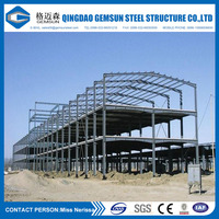 Multi-span Steel Structure Workshop/warehouse