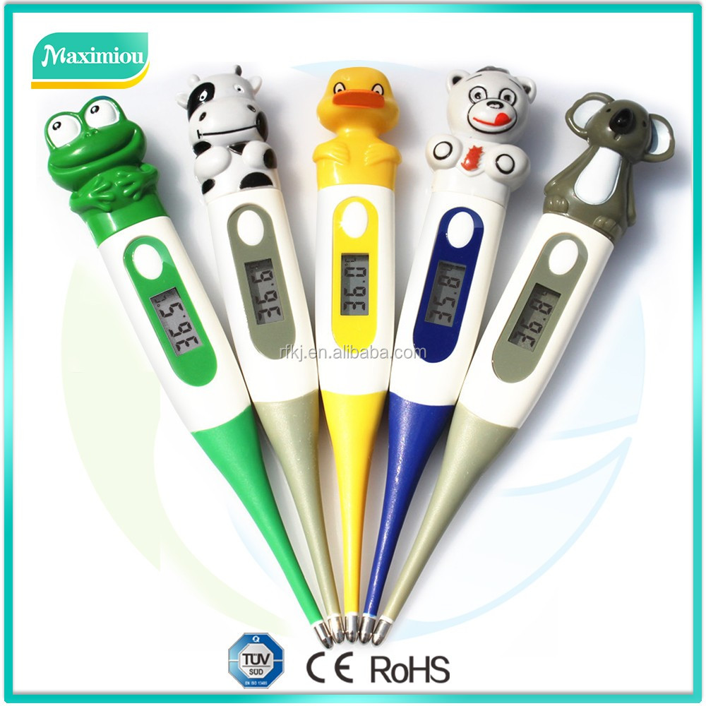 household type dost frog digital thermometer for baby and infants healthcare monitor