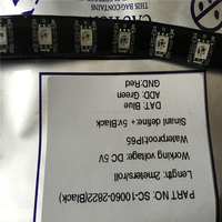 Promotion ws2822s dmx rgb led strip lighting ( ic ws2821a ) 60 5050 use rf rgb controller