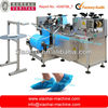 16x40cm automatic plastic Disposable pe shoe cover making machine for hotel,workshop,hospital