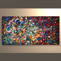Hot sell Stretched Art Picture In Discount Price