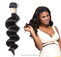 100% Natural Brazilian Hair Organic Hair Products Loose Wave Hair Long Lasting