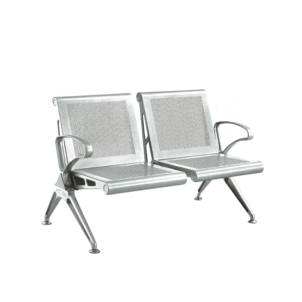 New arrival product popular 2-seater waiting <strong>chair</strong> for office