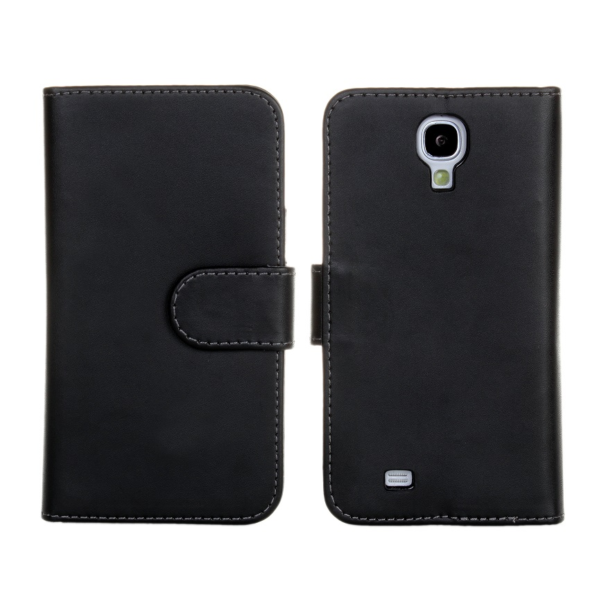 For Samsung Galaxy S4 i9500 Leather Case PU Wallet Pouch