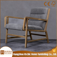 Factory Supplier French Oak Office Wooden Antique Side Chairs