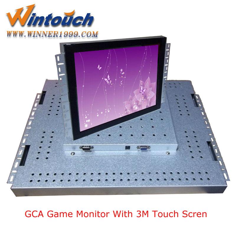 19 pulgadas de pantalla táctil industrial lcd monitor, lcd del marco ...