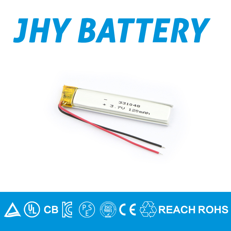 Ultra thin LiCoO2 lithium ion polymer battery batteries for bluetooth with ROHS, REACH, CE, IEC62133, UN38.3 etc.