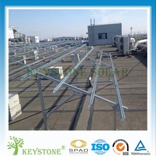 Anodized steel Solar Panel mounting structure for PV ground mounting system