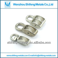 lifting pulley for rope;industrial pulley;nylon rope pulley