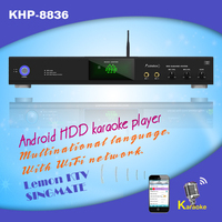 Android Lemon KTV HDD Karaoke product with HDMI 1080P Select songs via iPhone/Android phone Support large capacity hard drive