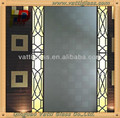 stain silk surface bronze acid etched glass
