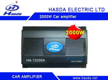 High performance 24v car amplifier