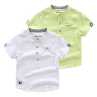 Summer Latest Clothing Manufacturers China Wholesale Baby Boys T Shirt Kids Plain T Shirt Cotton T Shirt