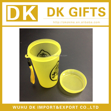 Having lanyard plastic PP cup with lid for promotion