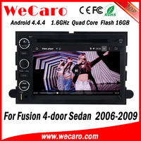 Wecaro WC-FU7302 Android 4.4.4 dvd gps 1024*600 touch screen car dvd for ford fusion 2006 - 2009 bluetooth