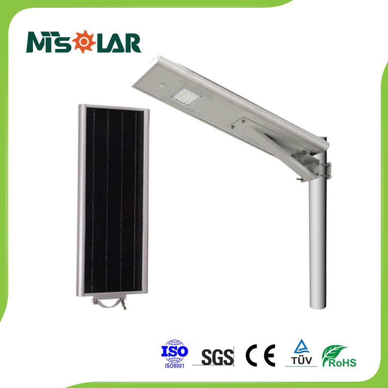 Solar LED Street Light with 50% Intelligent Energy Saving 20W