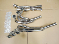 STAINLESS STEEL EXHAUST HEADER+Y PIPE DOWNPIPE FOR BMW 325 E30/M20 1984-1991 Exhaust Pipe