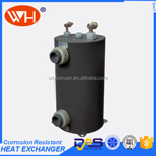 3.0KW Hot sales titanium tube heat exchanger for swimming pool heat pump (WHC-1.0DRL)