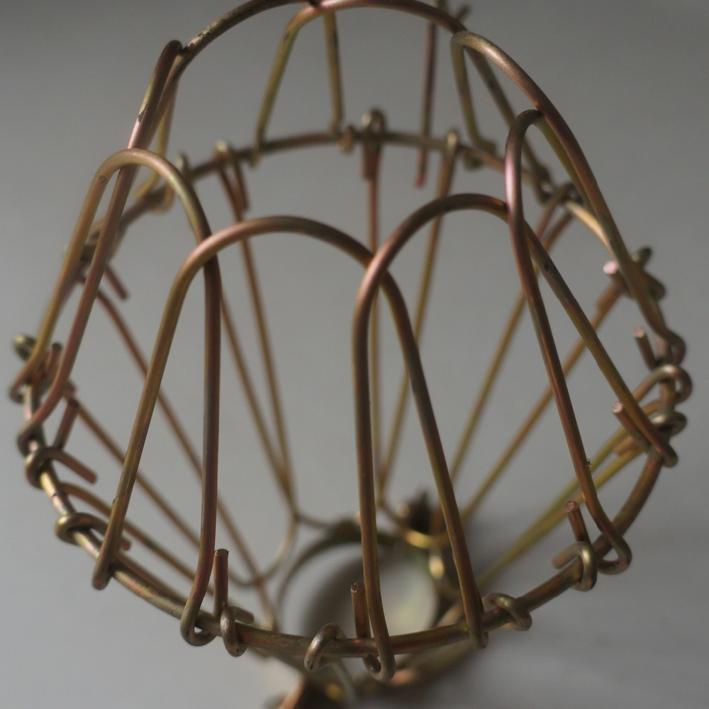 Iron Wire Bulb Cage, Clamp On Lamp Guard