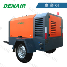 Industrial Diesel Movable Air Compressor with Trailer Mounted