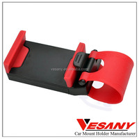 Vesany factory wholesale uinversal plastic steering wheel mini car holder mobile phone